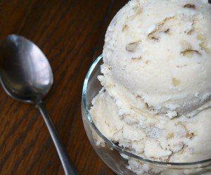 Black Walnut Ice Cream Recipe Served